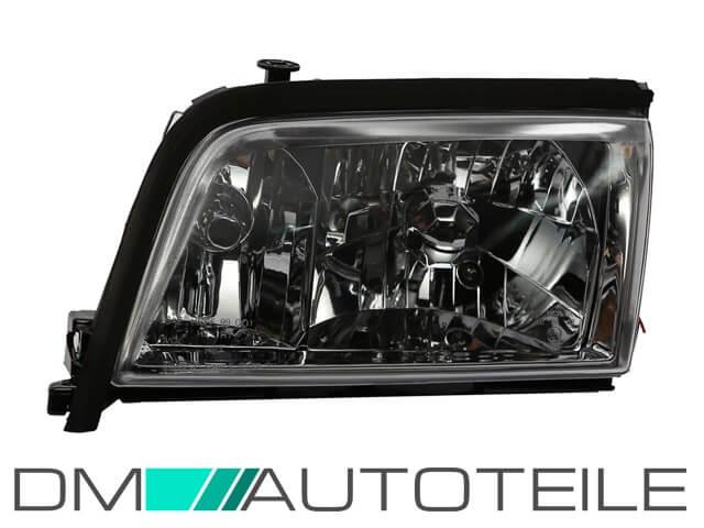 Mercedes W202 C Klasse Klarglas Scheinwerfer Set Chrom 93