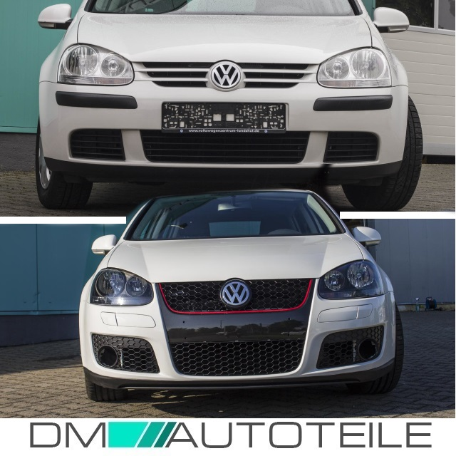 vw golf 5 gti jetta iii scheinwerfer set lamellen. Black Bedroom Furniture Sets. Home Design Ideas