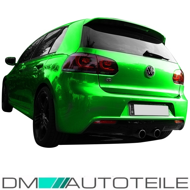 vw golf 6 vi led r ckleuchten heckleuchten set rot smoke. Black Bedroom Furniture Sets. Home Design Ideas