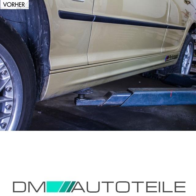 98-05 grundiert Limousine Seitenschweller Set für BMW 3er E46 Sport Look Bj