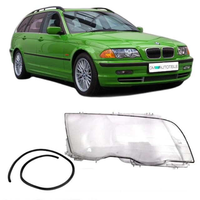 bmw e46 limo touring xenon halogen scheinwerferglas. Black Bedroom Furniture Sets. Home Design Ideas