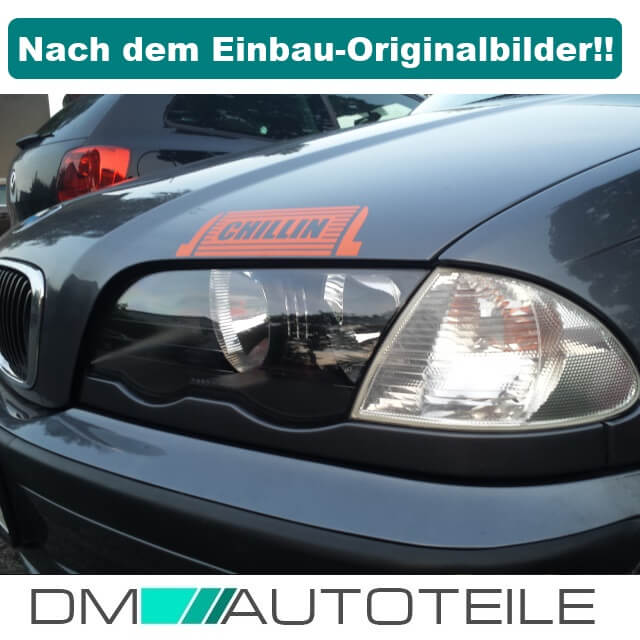 bmw e46 limo touring halogen xenon scheinwerferglas. Black Bedroom Furniture Sets. Home Design Ideas