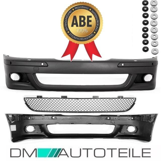 DM Autoteile SET Sport STO/ßSTANGE vorne passt f/ür E39 nicht M5 M Nebel Gelb+NIETEN+*ABE