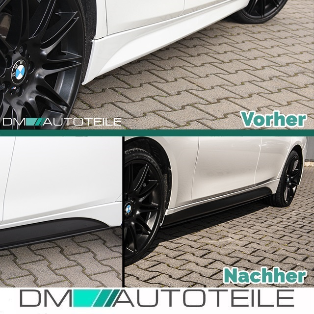bmw f30 f31 m performance bodykit frontspoiler diffusor. Black Bedroom Furniture Sets. Home Design Ideas