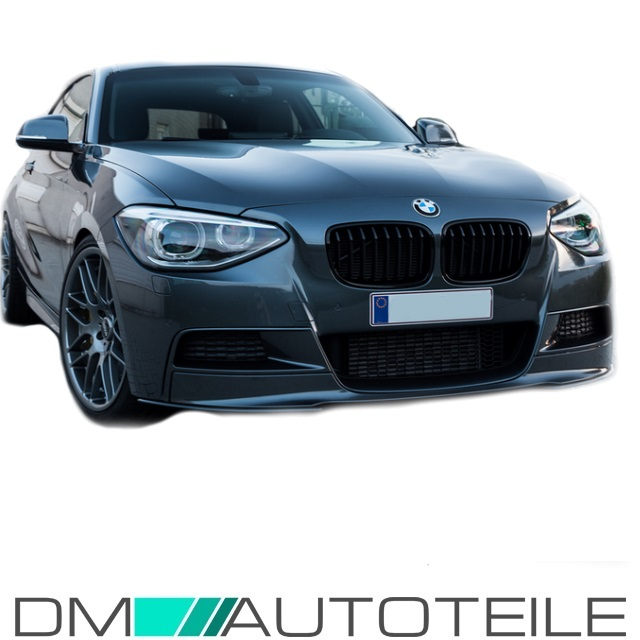 sport performance front spoiler splitter black bmw f20 f21. Black Bedroom Furniture Sets. Home Design Ideas