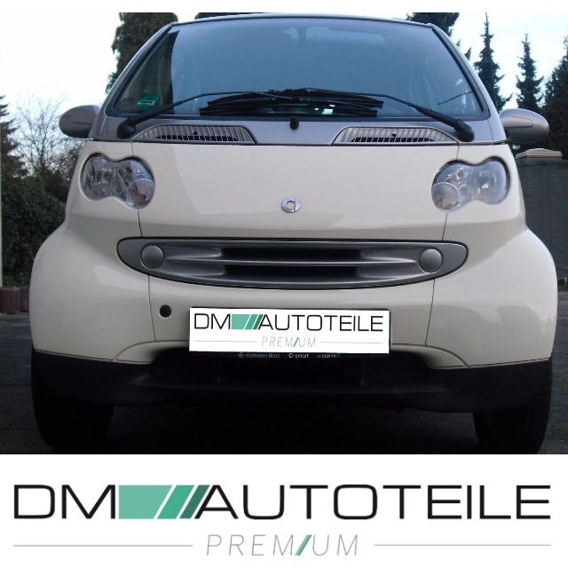smart fortwo city coupe cabrio 450 spoiler sto stange. Black Bedroom Furniture Sets. Home Design Ideas