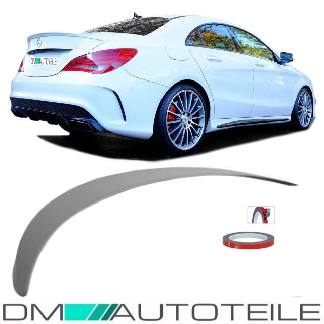Carbon Spoiler Heckspoiler Flügel Lippe für Mercedes CLA C117 Bj13-19 Heckansatz