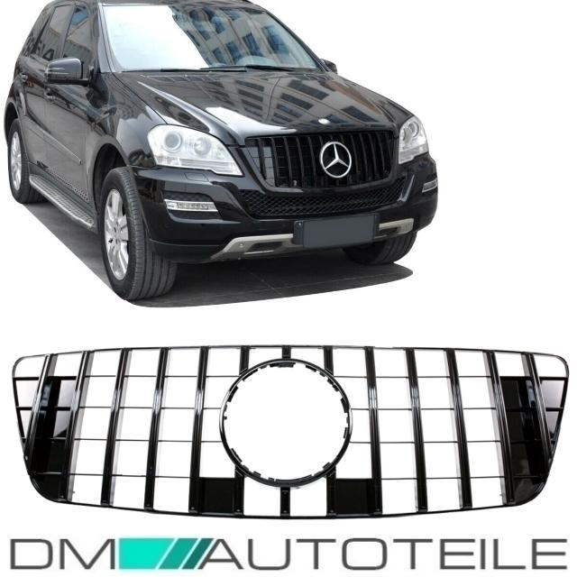 DM Autoteile ML W164 Trittbretter Einstiegsleisten Schweller Aluminium ABS 2005-2011
