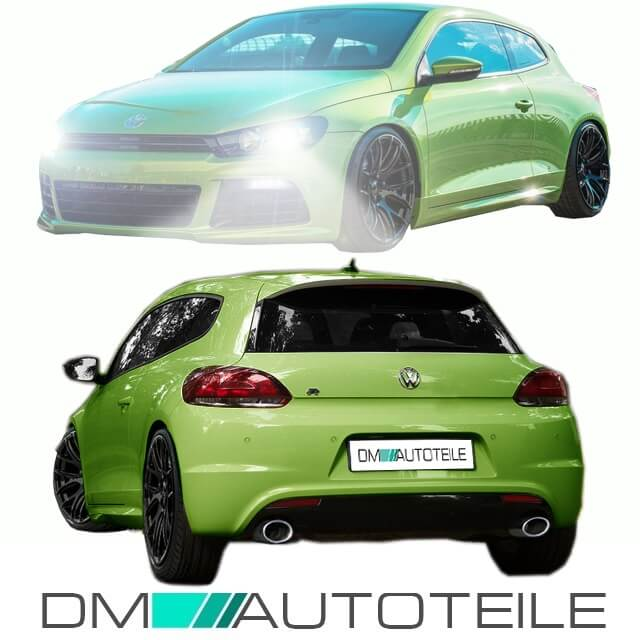 vw scirocco 137 iii bodykit r 20 optik sto stange vorne. Black Bedroom Furniture Sets. Home Design Ideas