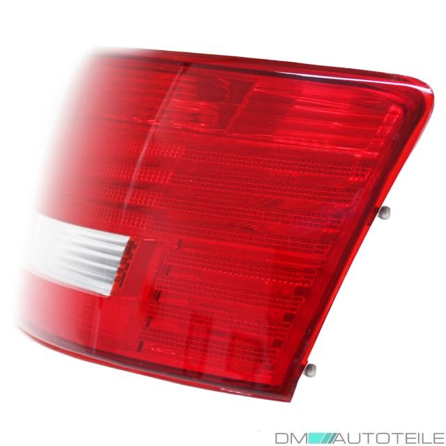 Birnen KOMPLETT 2x Audi A6 4F Rückleuchten RE+LI Rot Weiß 04-08 4F2 C6 Halogen