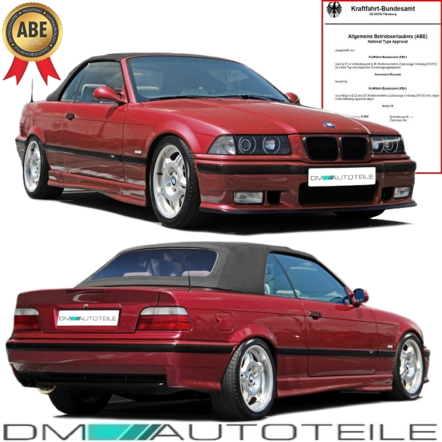 bmw e36 bodykit lackiert limo cabrio touring coupe. Black Bedroom Furniture Sets. Home Design Ideas