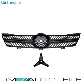 Mercedes CLS C219 W219 Twin Blade Front Grille Black / Chrome Sport Year 04-08