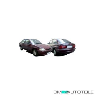 Ford Escort 95-00 Stoßstange Hinten Kombi schwarz