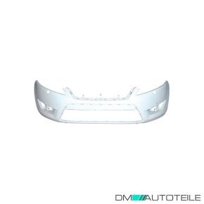 Ford Mondeo 4 IV Stoßstange vorne  2007-2010 grundiert ohne SRA ABS Kunststoff