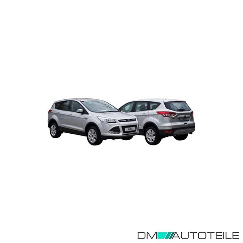 Stoßstange hinten oben Schwarz passt für Ford Kuga DM2 ab 2012-2019 mit PDC