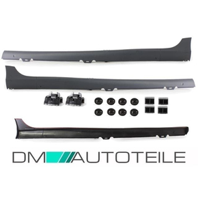 Set VW Golf 5 V Side Skirts Saloon 5-doors ABS + fitting...
