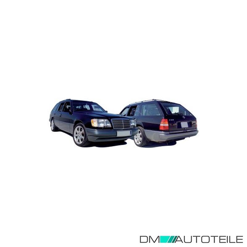 Stoßstange Stoßfänger hinten grundiert Mercedes W124 E-Klasse Bj 93-95