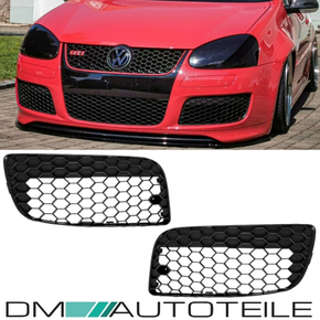 VW Golf 5 V GTI Grille Set honeycomb without fog lights exclusive