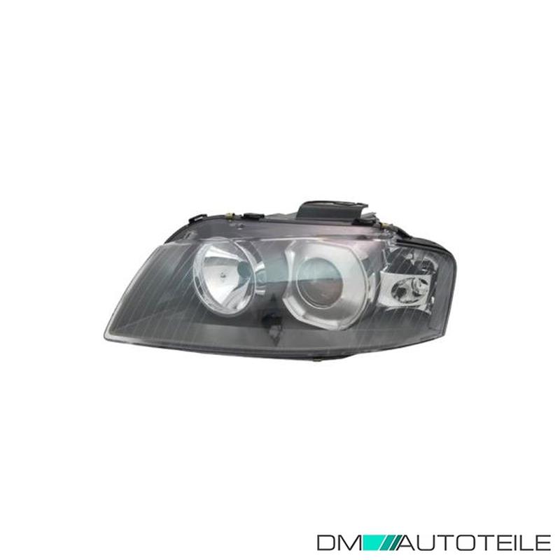 Lampen Motor H7+H7 inkl Bj 03//03-/>/> inkl 8P1 Scheinwerfer Set für Audi A3