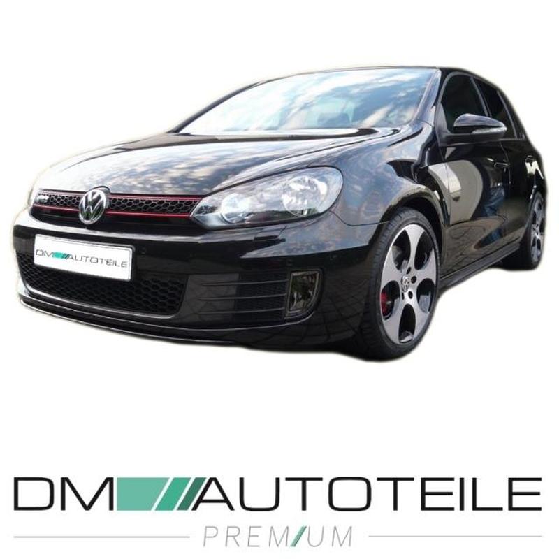 Det fog lights Smoke black + bulbs suitable for VW Golf VI 6 GTD 08-13