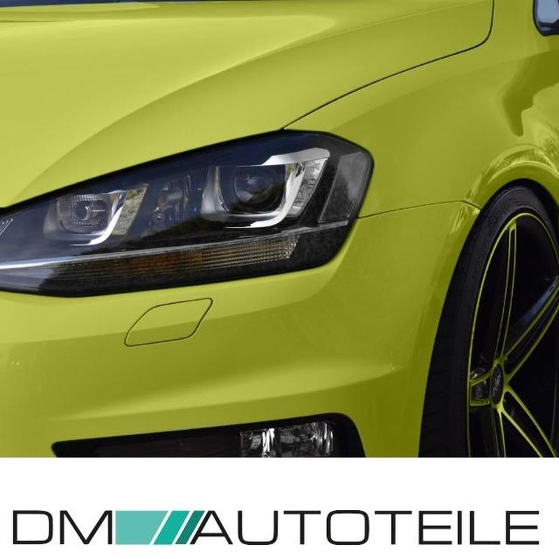 VW Golf 7 VII Front Bumper 12-17 for headlamp washer / park assist +  accessories for R-20 conversion