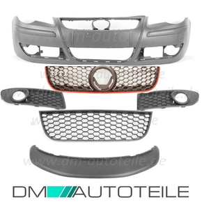 VW Polo 9N 9N3 GTI design Front Bumper 05-09 + ABS...