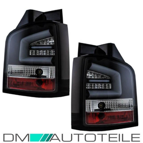 VW T5 GP LED rear lights lightbar black full LED 09-14