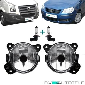 VW T5 03-09 Crafter 06-16 Polo 9N 05-09 Fog Lights Fogs...