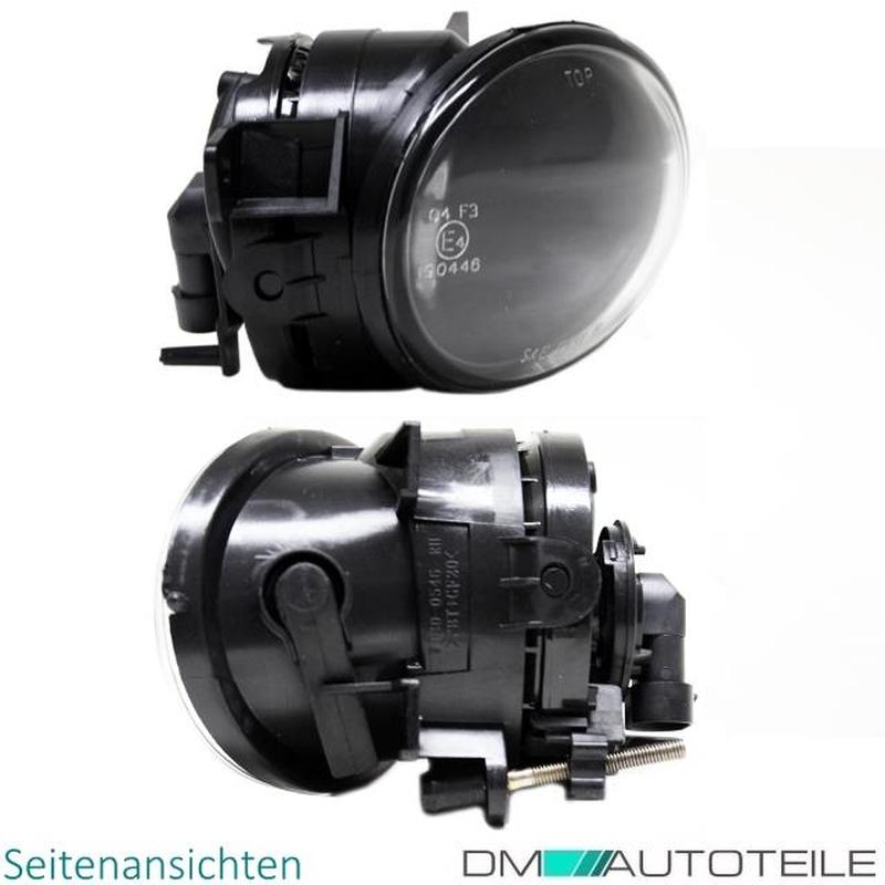 DM Autoteile 2x T5 Multivan Transporter Facelift Nebelscheinwerfer SET Chrom Klarglas HB4