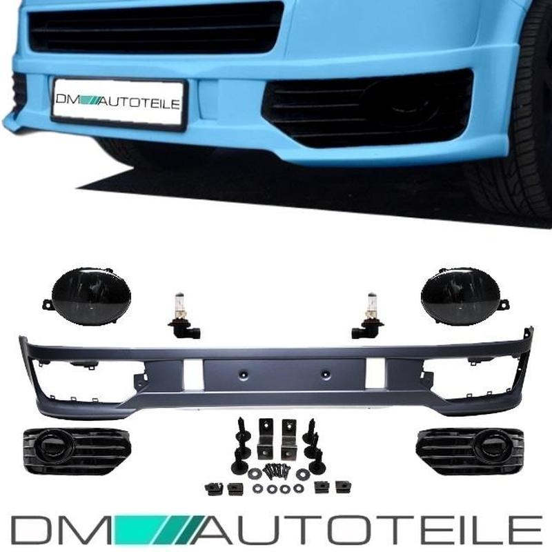 SET Nebelscheinwerfer Abdeckung VW T5 Transporter 5 Bus Vorne Links /& Rechts