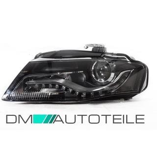 Audi A4 B8 Saloon Avant Xenon Headlight Left Side 07 11 D3s Daytime Running Light