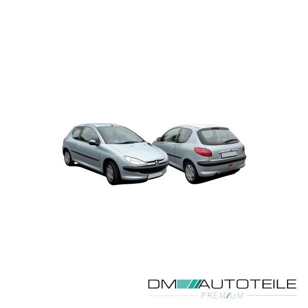 206 SW 98-09 Stoßstange vorne grundiert passt für Peugeot 206 Schrägheck