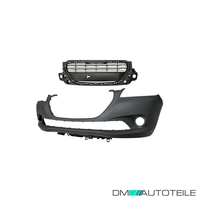 Träger VW Crafter  06-/>/>  kein PDC Set Kit Stoßstange vorne schwarz