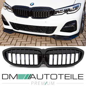 Sport-Performance Front Kidney Grille single Slat glossy...