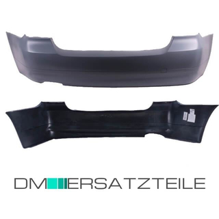 Saloon Rear Bumper standard primed without park assist fits on BMW E90 08-11 LCI Facelift