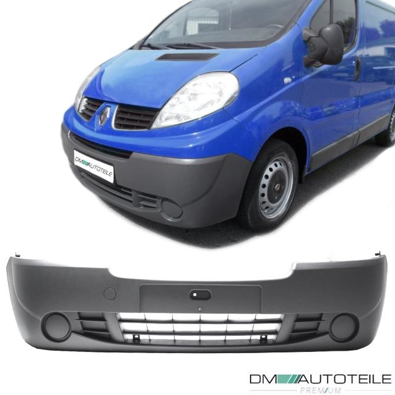 Renault Traffic Front Bumper Grey Bj 06-14 + Nissan