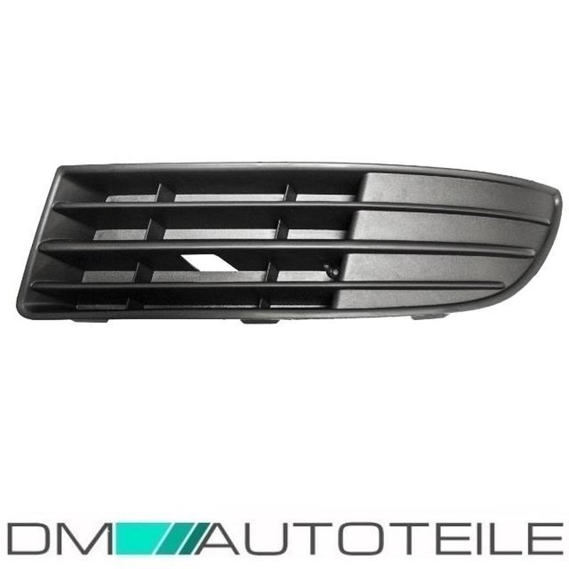 VW T5 FL 09 GRILL GRILLE GITTER IN STOßSTANGE MIT NEBELSCHEINWERFER LOCH LINKS