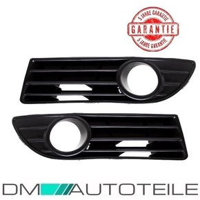 Set VW Polo 9N3 Front Grille LH+RH for Models with Fog...