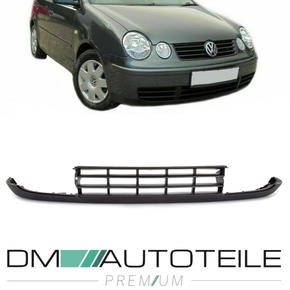 VW Polo 9N Spoiler for Front Bumper bottom 01-05 black