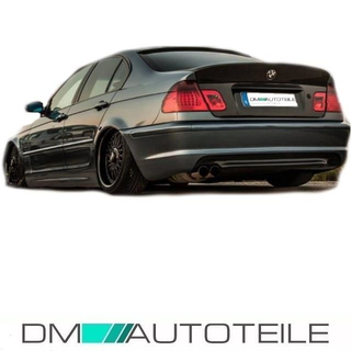 Replacement Rear Diffuser Fits on BMW E46 all M-Sport Bumper and Models 98-07