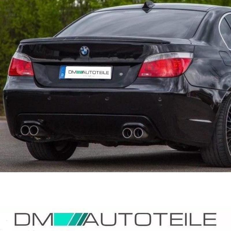 Duplex Diffuser + accessories fits on BMW E60 E61 M-Sport Bumper w/o M5  03-10
