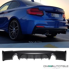 Sport -Performance Rear Diffusor 235 240 for BMW 2 F22...