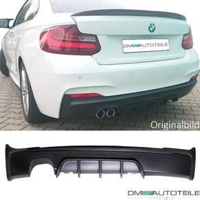 Sport -Performance Rear Diffusor Outlet left f. BMW F22...