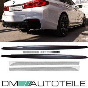 Sport-PERFORMANCE Side Skirts Decals Vinyl SET LH+RH+Foil...