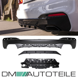 Sport-PERFORMANCE Rear Diffusor Black + Accessoires fits on M-SPORT BMW G30 G31