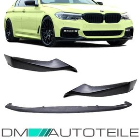 Set FrontSpoiler Black Matt 3pcs. Sport-Performance +...