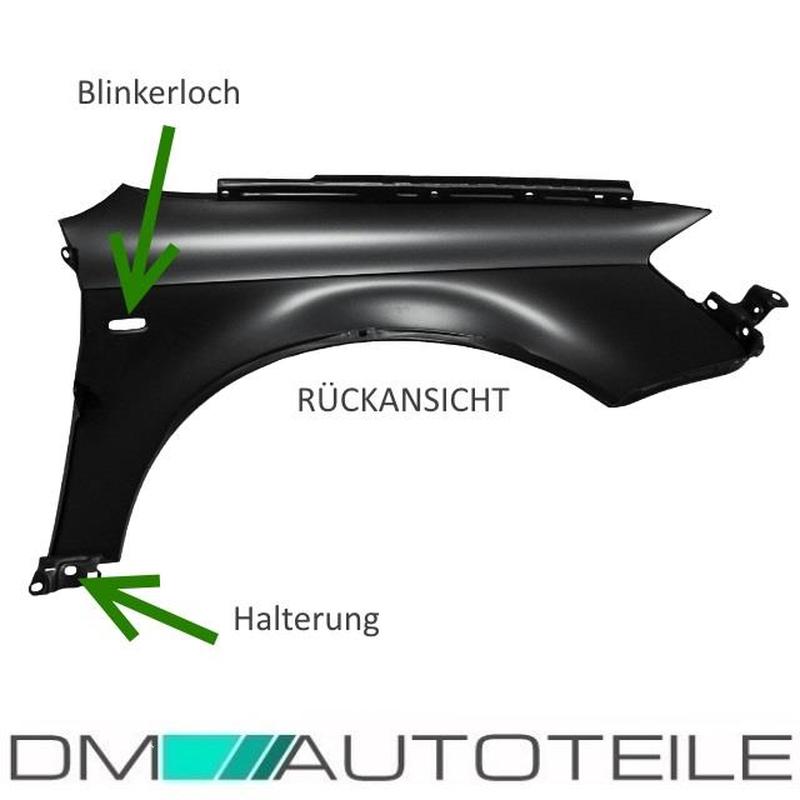 Audi A4 Avant B7 04-07 Neuer Kotflügel in Wunschfarbe Lackiert vorn Rechts//Links