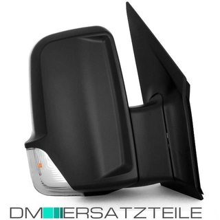 Mercedes Sprinter W906 VW Crafter wing mirror right side black 06-10