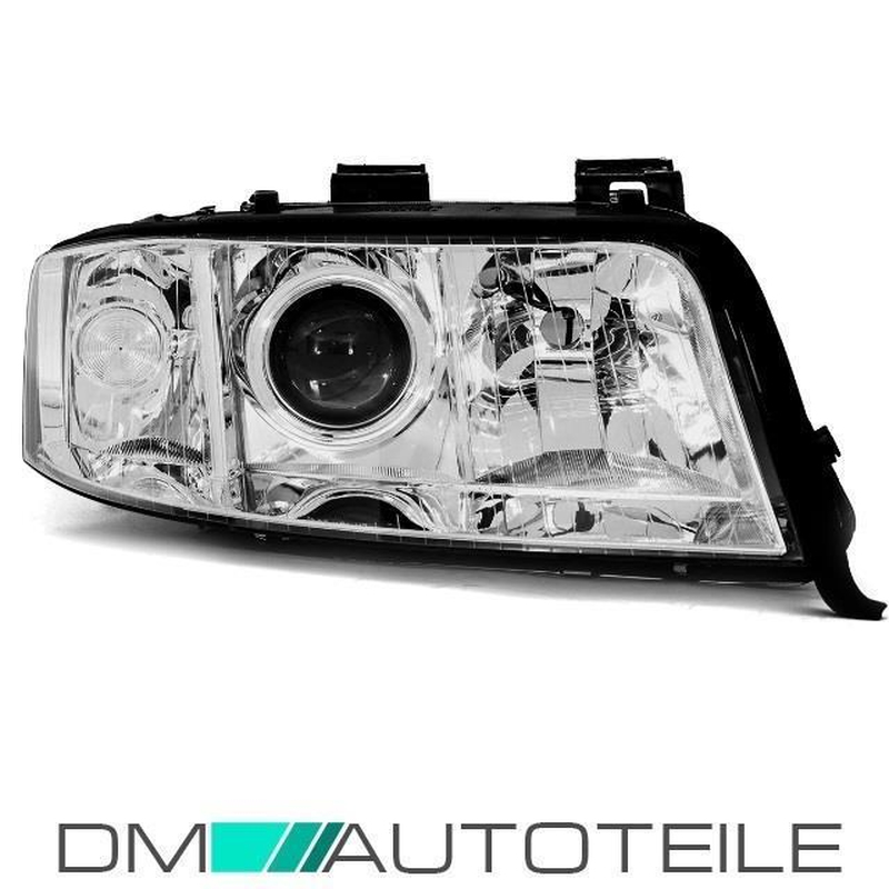 Audi A6 C5 Xenon Headlights Right 01 04 4b Facelift Saloon Avant D2s