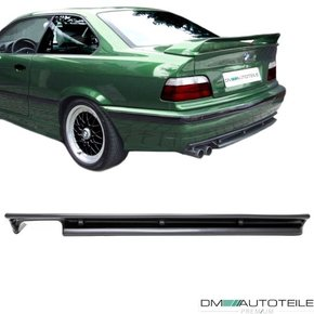 GT EVO DESIGN LOWER REAR BUMPER SPLITTER DIFFUSOR SPORT...